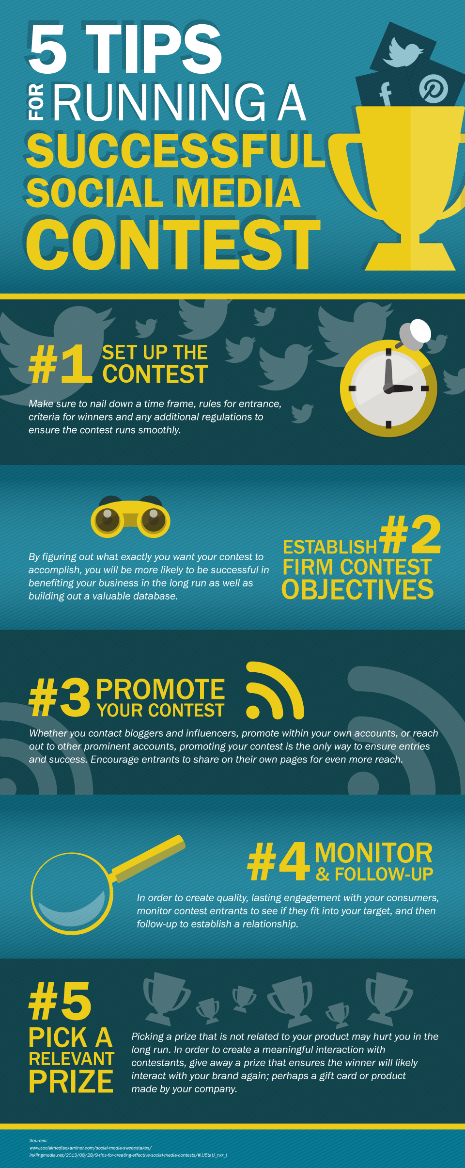 5 tips for running a successful social media contest.72dpi 5 Tips For Running A SM Contest